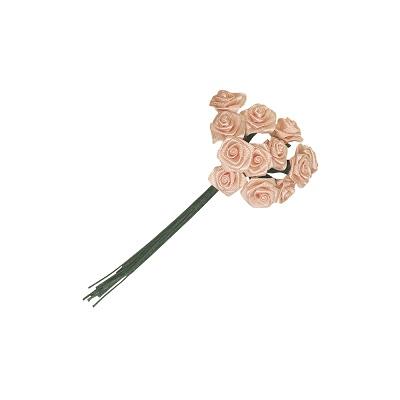 Satijn bloemen/strikjes