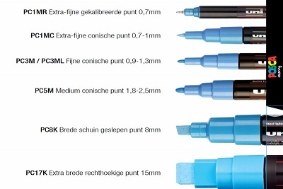 Posca PC3M 0,9-1,3mm