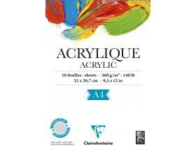 Acryl/Olie papier/bloks
