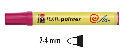Textielstift 2-4mm